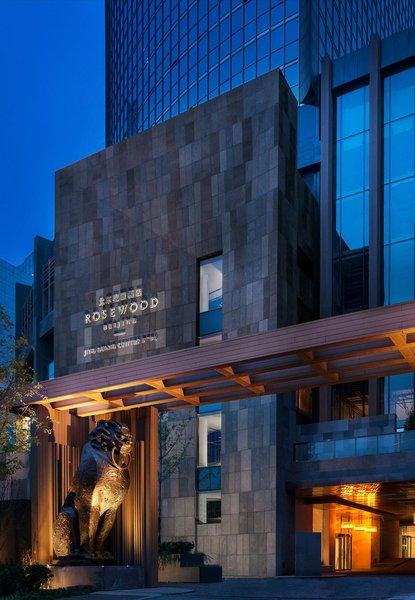 北京瑰丽酒店酒店外观