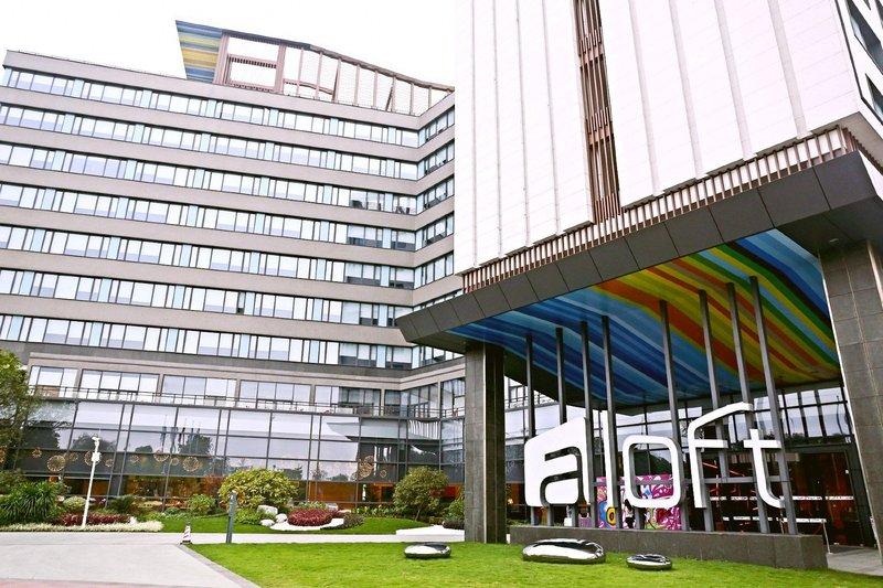 广州大学城雅乐轩酒店酒店外观