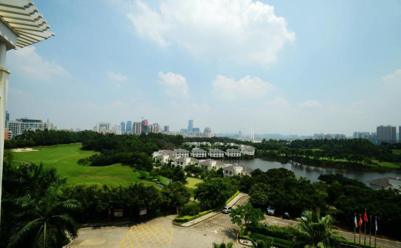Huizhou Lakefront Golf club and Resort Over view