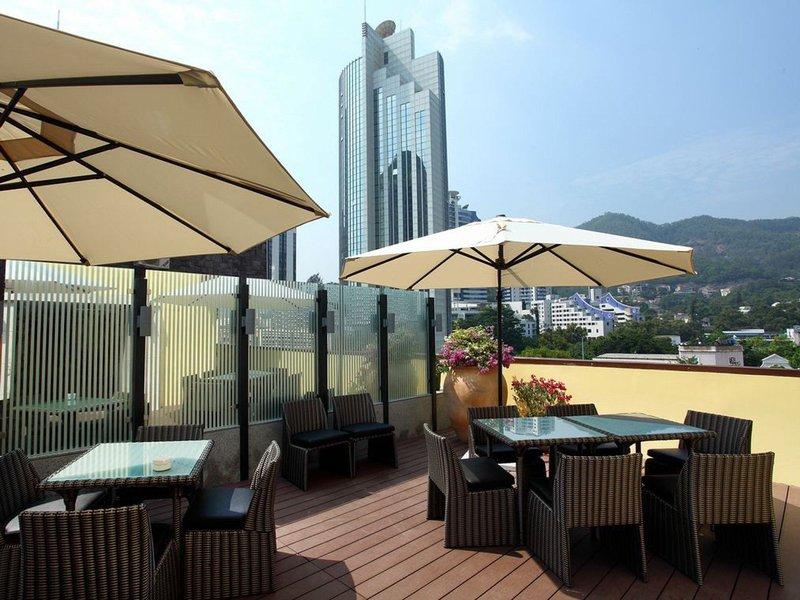 深圳鸿隆公寓餐厅
