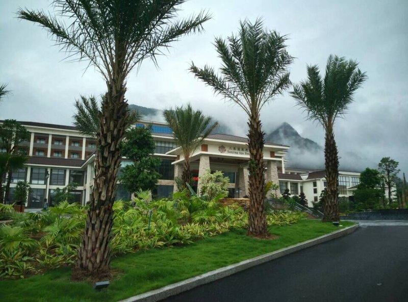 广州三英温泉度假酒店酒店外观