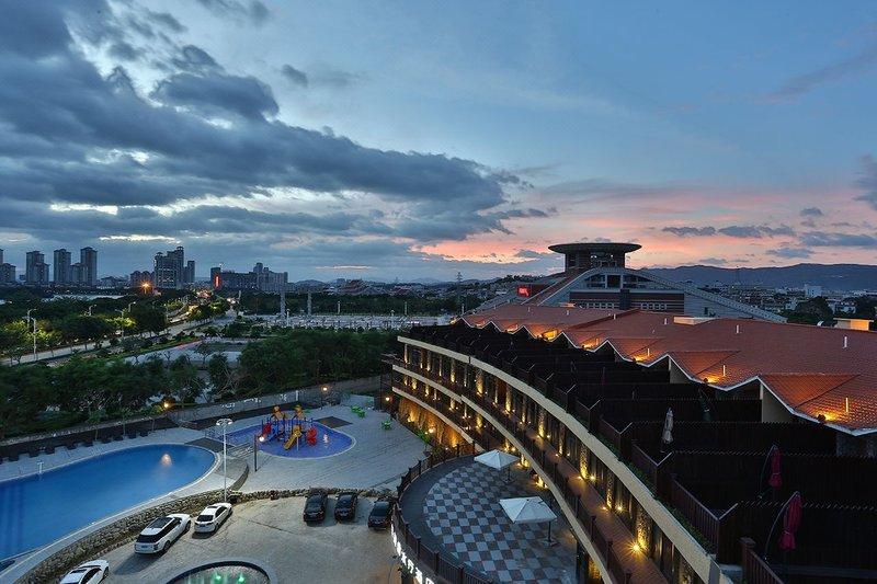 Xiyu Yuanquan Meishi Spa Hotel Over view