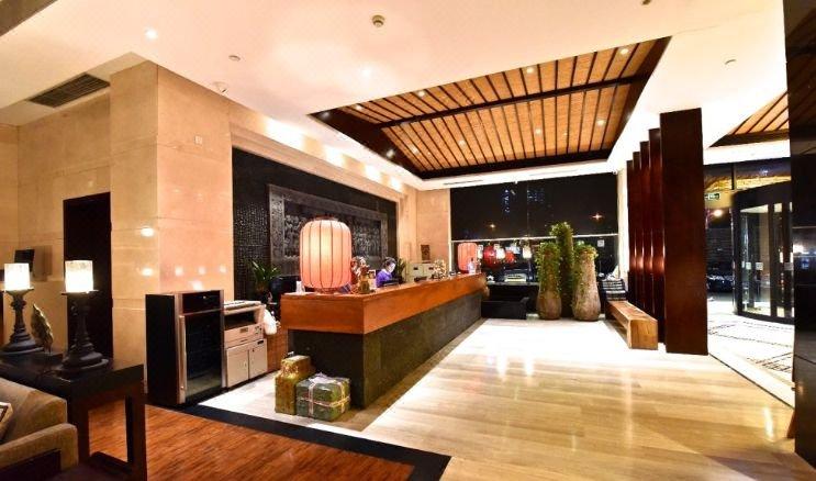 上海柏阳君亭酒店公共区域