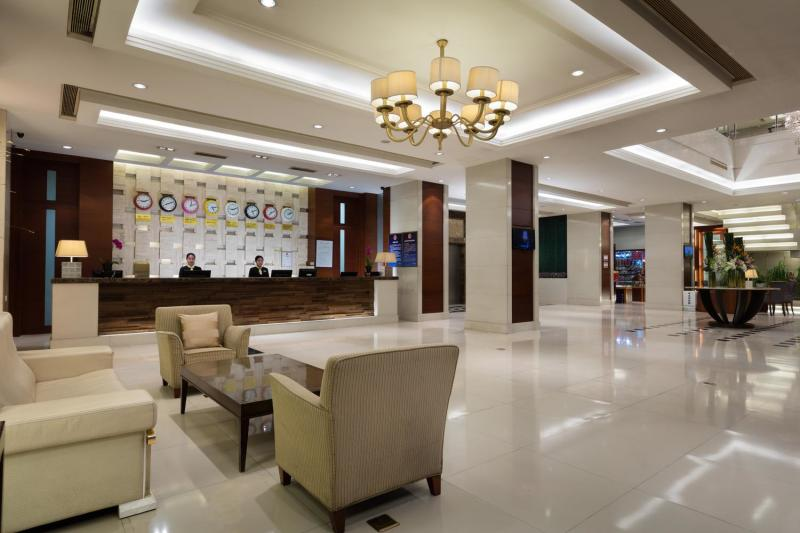 北京龙城华美达酒店休闲室
