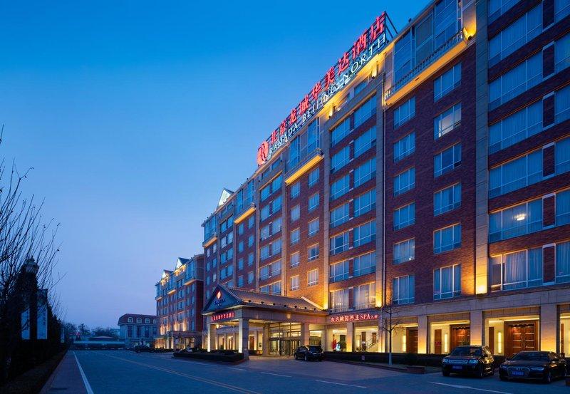 北京龙城华美达酒店外观