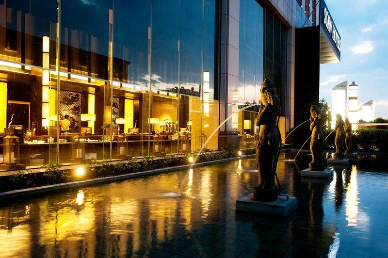 杭州银隆君亭酒店酒店外观