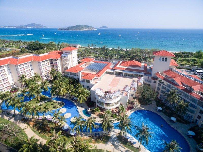 Golden Palm Resort Sanya Over view