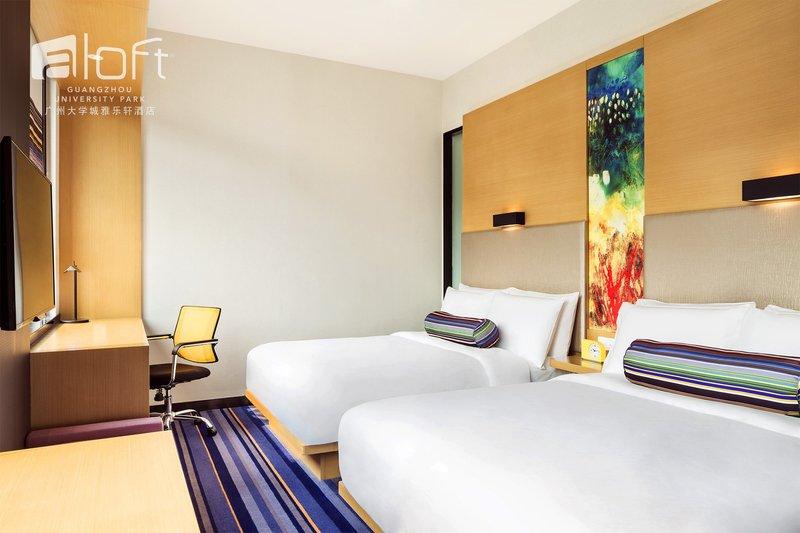 广州大学城雅乐轩酒店房型