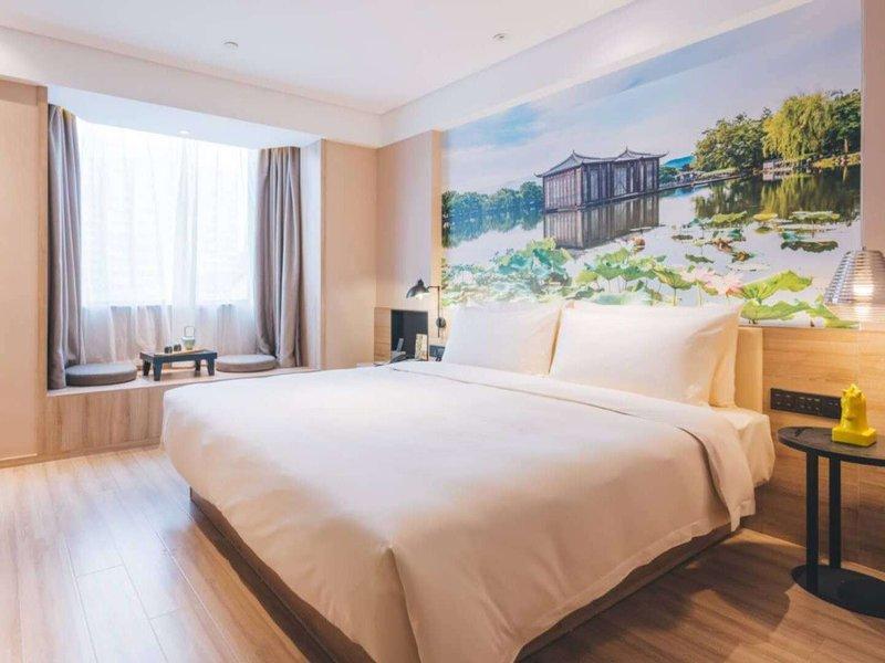 杭州西湖平海路亚朵酒店房型