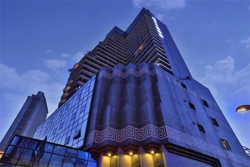 桔子水晶酒店(广州淘金店)酒店外观