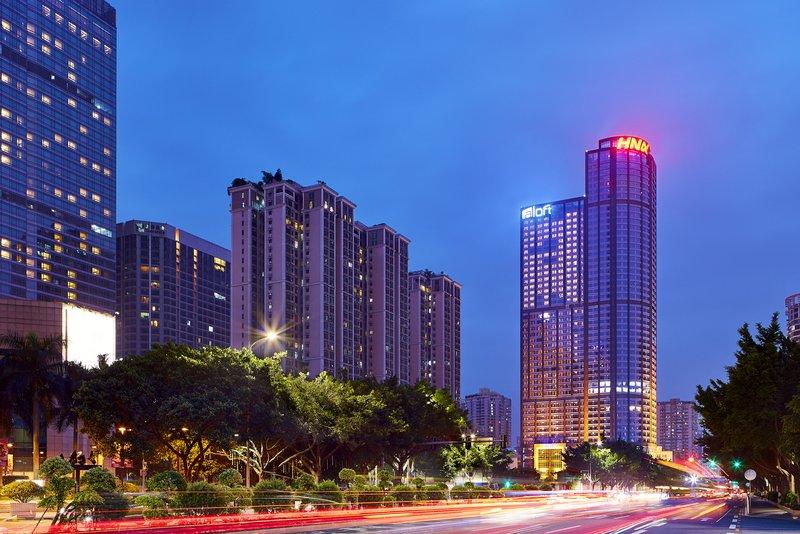 Aloft Guangzhou Tianhe Over view