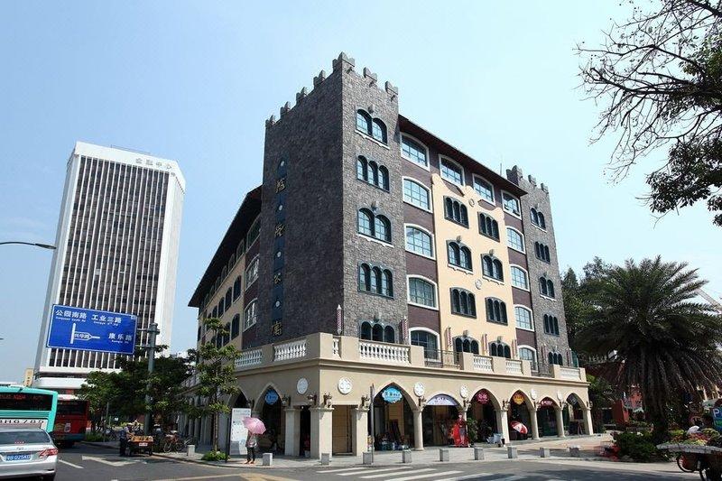 深圳鸿隆公寓外观