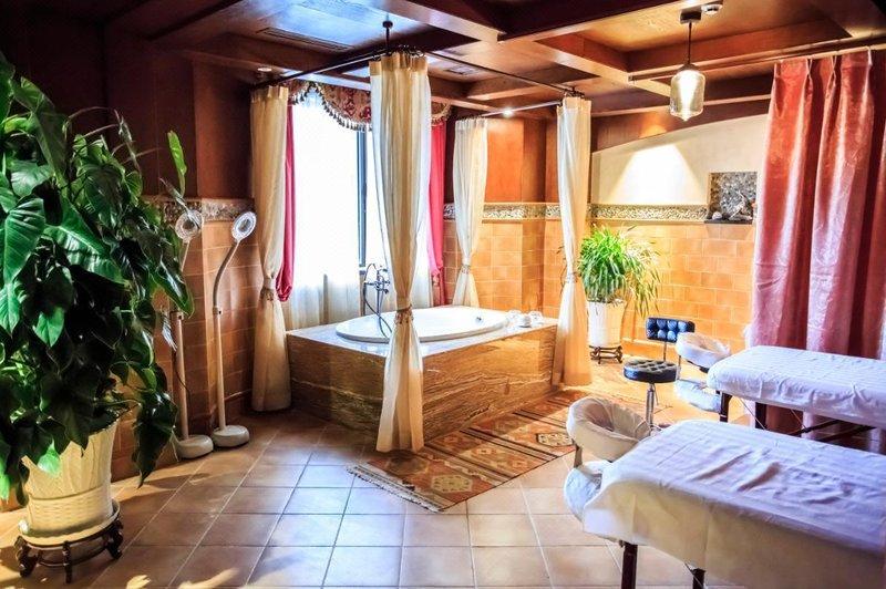 怀来奥伦达部落·西镇酒店 - 休闲室
