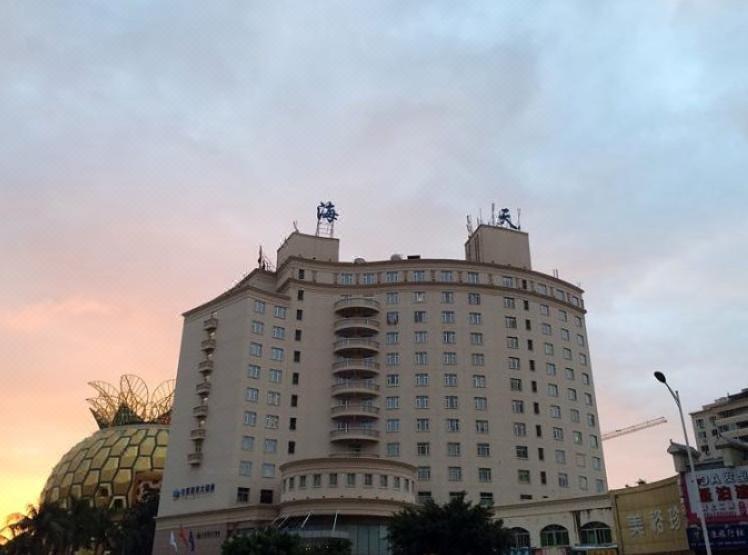 三亚海天大酒店酒店外观