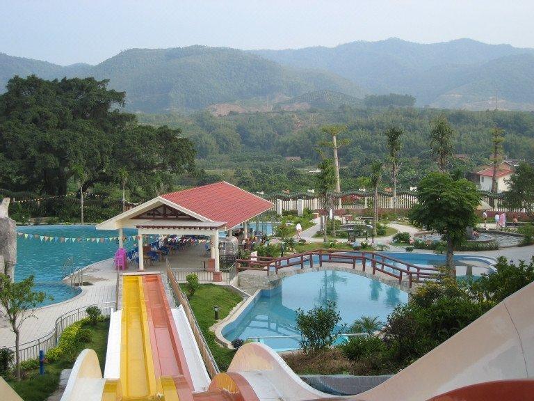 惠州金童子溫泉度假山莊休閑室