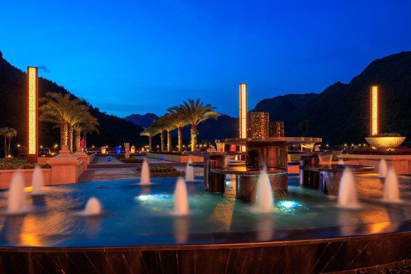 Lanshanyuan Lingnan Oriental Hot Spring HotelHotel public area