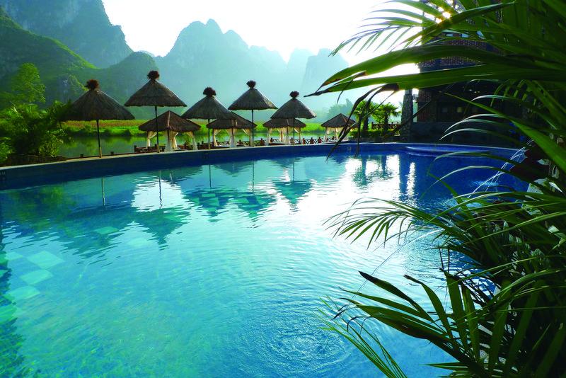 Mingshi Mountain Villa Leisure room