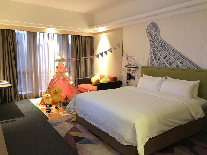 广州珠江新城希尔顿欢朋酒店房型