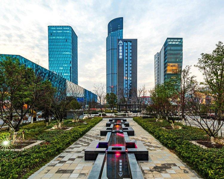 嘉兴南湖亚朵酒店外观