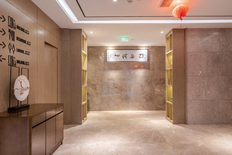 杭州西湖平海路亚朵酒店公共区域