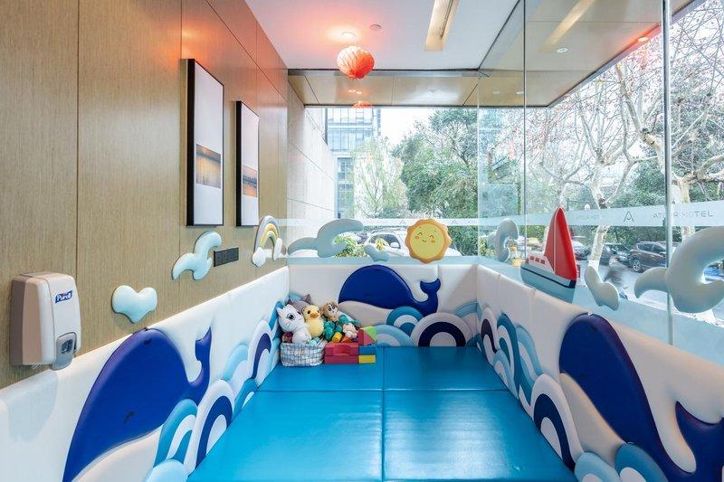 杭州西湖平海路亚朵酒店休闲室