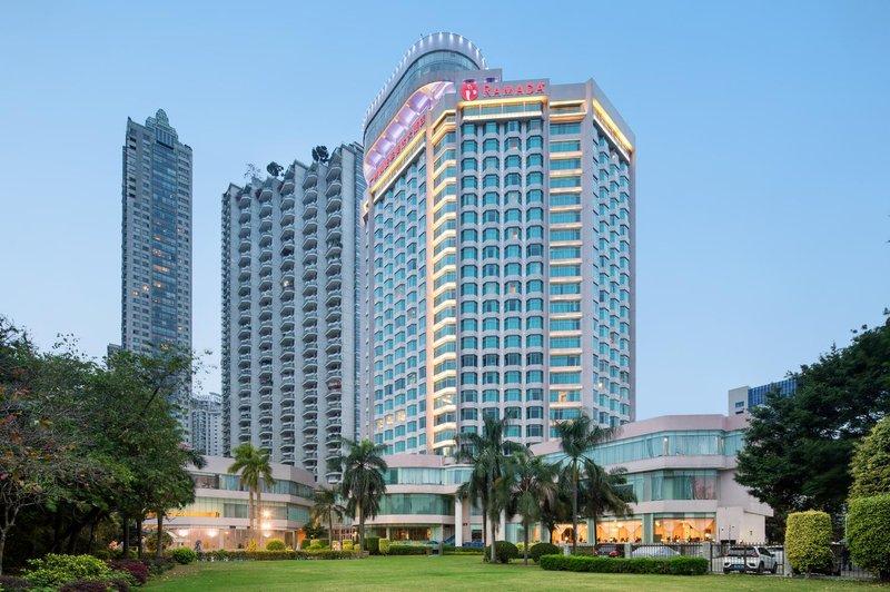 广州凯旋华美达大酒店酒店外观