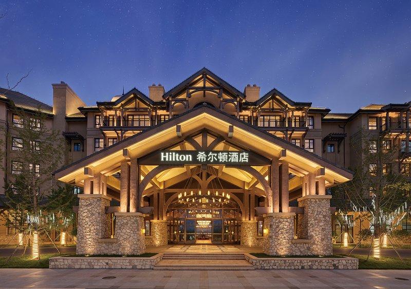 文安鲁能希尔顿酒店酒店外观