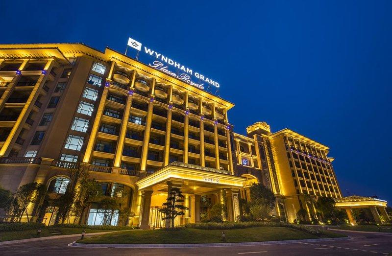 安吉凯承温德姆至尊豪廷大酒店酒店外观
