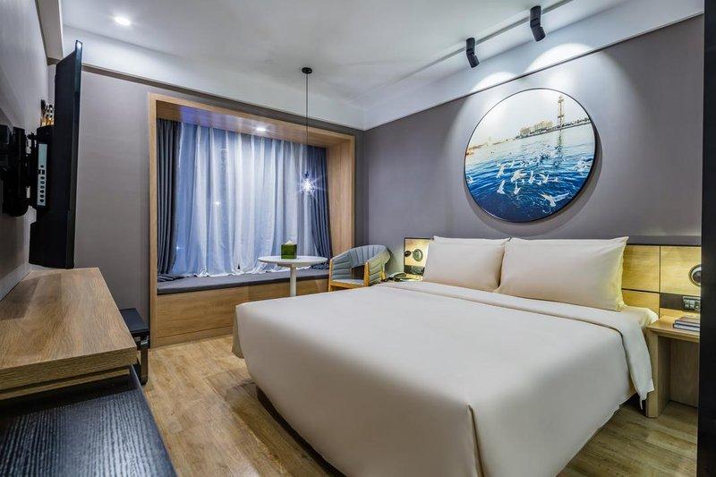 青岛山东路中央商务区亚朵轻居酒店房型