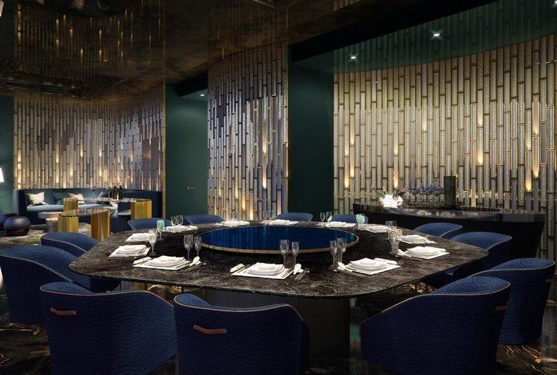JW Marriott Marquis Hotel Shanghai PudongRestaurant
