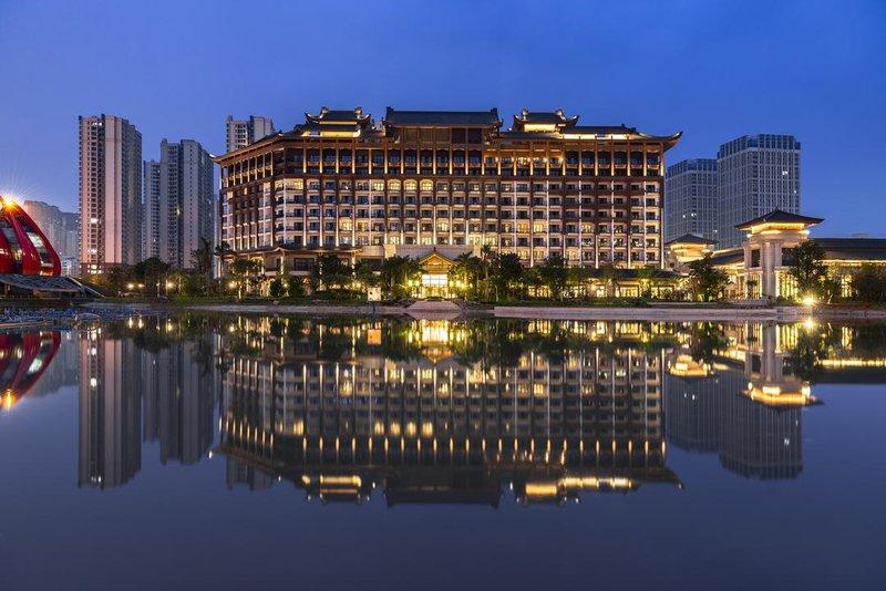 广州融创万达嘉华酒店外观