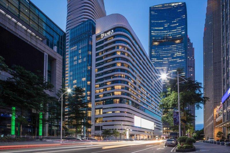广州珠江新城华轩美爵酒店外观