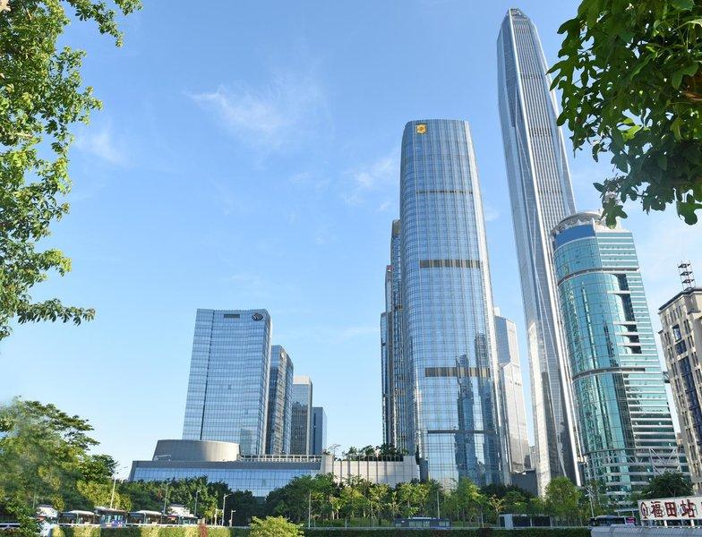 深圳福田香格里拉大酒店外观