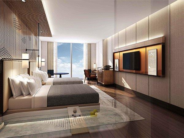 杭州金沙湖和达希尔顿嘉悦里酒店房型