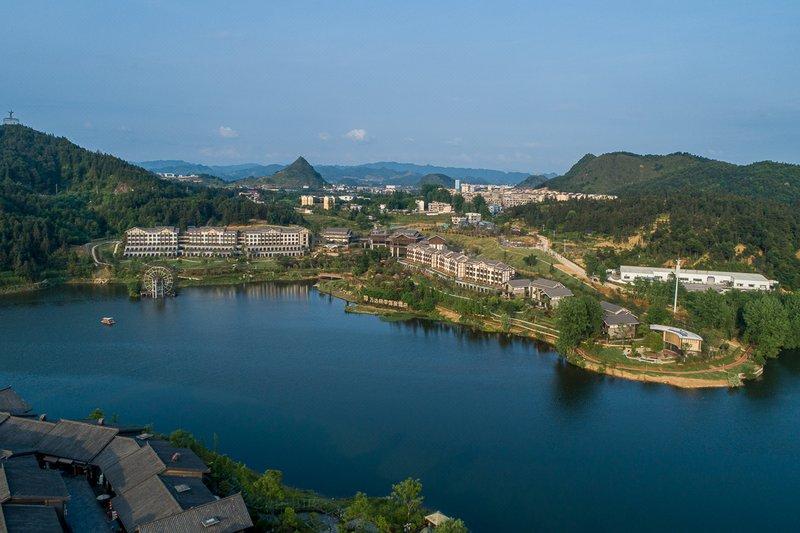Wanda Jin Hotspring Danzhai Over view