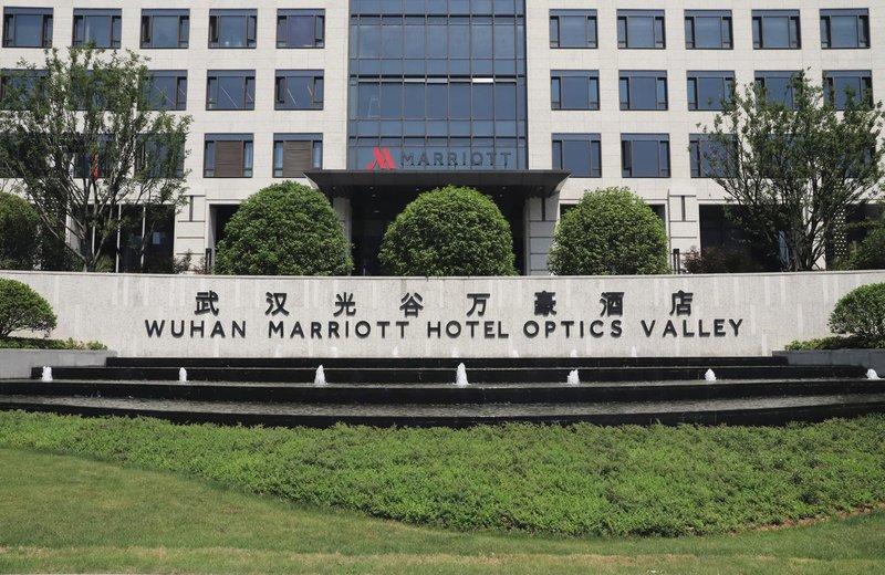 武汉光谷万豪酒店外观