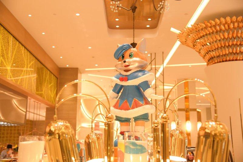 郑州银基冰雪酒店餐厅