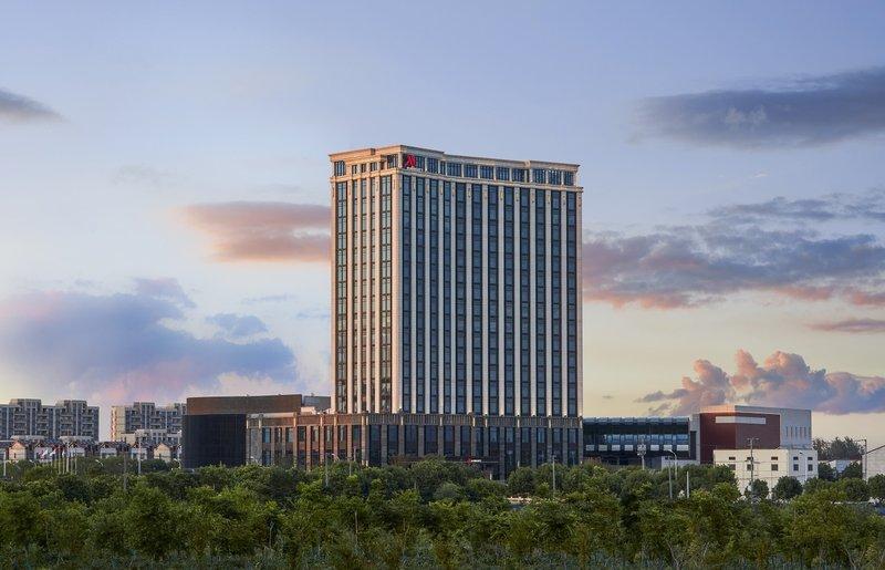 上海中优城市万豪酒店外景图