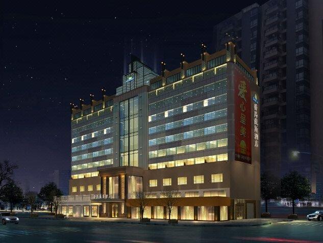 广州番禺戴斯酒店外观